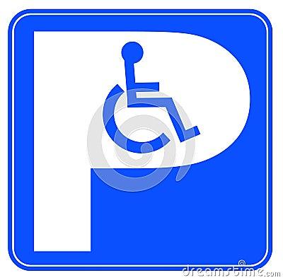 Wheelchair parking