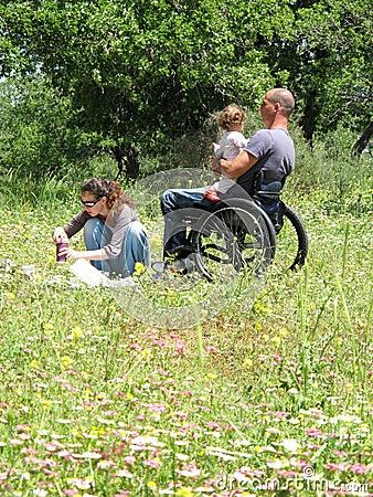 Wheelchair Picnic