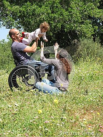 Wheelchair Picnic Game