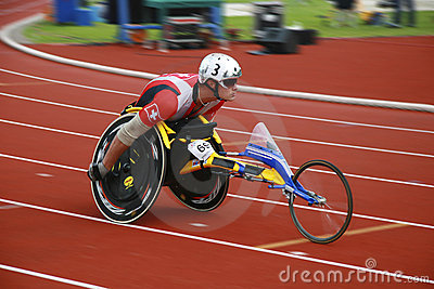 Wheelchair race Editorial Image