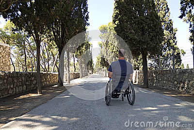 Wheelchair Road