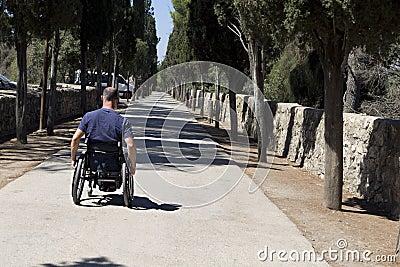 Wheelchair Road advance
