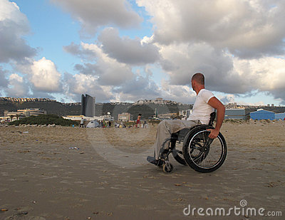 Wheelchair sand