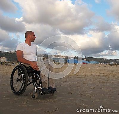 Wheelchair sand