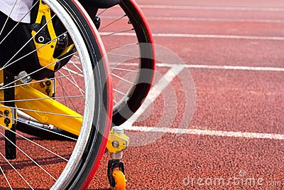Wheelchair sportsmen