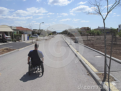 Wheelchair Suburb
