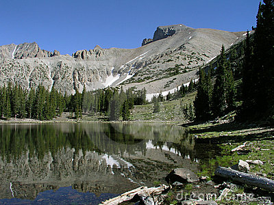 Wheeler Peak in Great Basin National Park