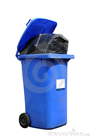 Free Wheelie Bin Royalty Free Stock Image - 14226456
