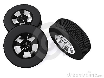 Wheels Stock Photo - Image: 7567920