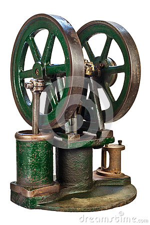 Free Wheels Of An Old Steam Engine Royalty Free Stock Photo - 62748765