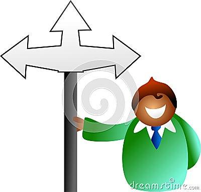 Which way man