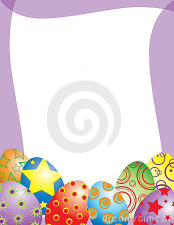 Whimsical Easter Egg Frame