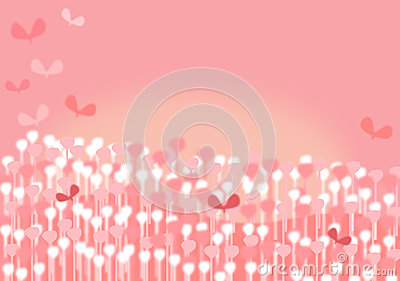 Whimsical Pink Background