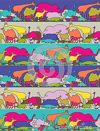 Whimsikal animals