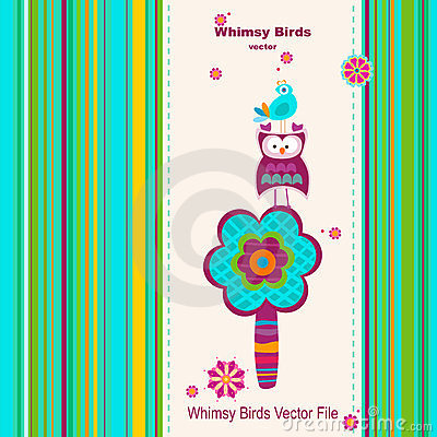 Whimsy birds