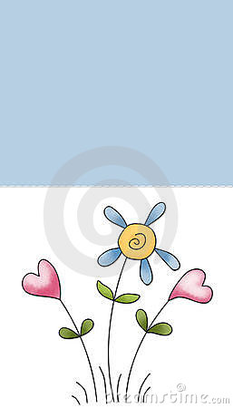 Whimsy Flowers Background