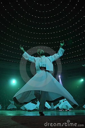 Free Whirligig Dervish In Religious Dancing Royalty Free Stock Photo - 11652985