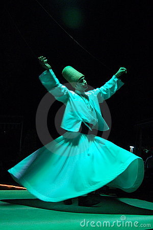 Whirling Dervish Editorial Image