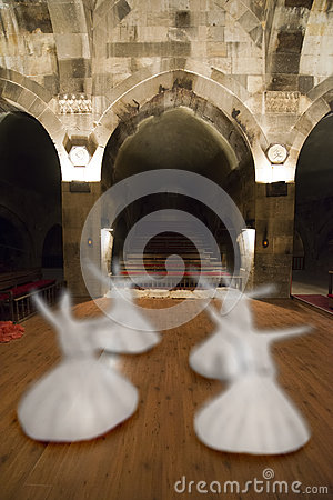Whirling Dervish Concept, Middle East Sufi Culture