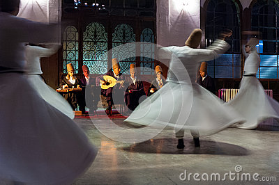Whirling dervishes Editorial Image
