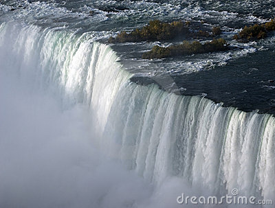 Whirlpool of the Niagara Falls in Ontario