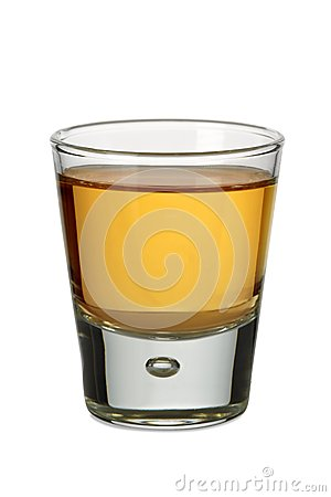 Free Whiskey Shot Stock Photography - 33020962