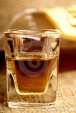Whiskey shot