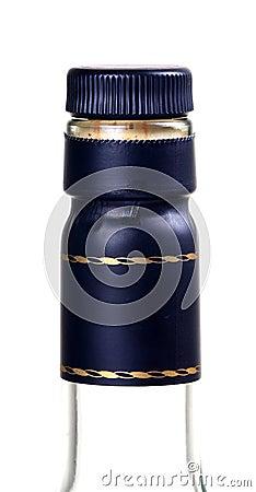 Whisky bottle head