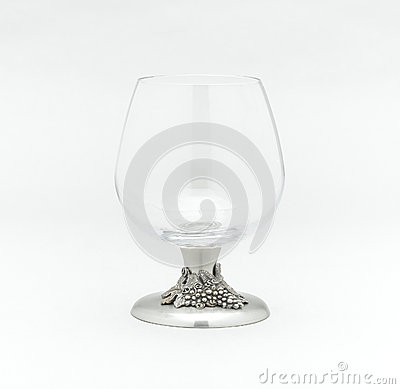 Whisky or brandy glass