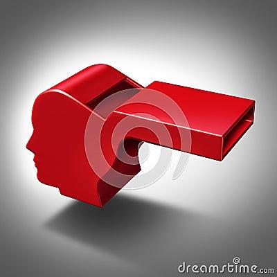 Free Whistle Blower Royalty Free Stock Photos - 40418928