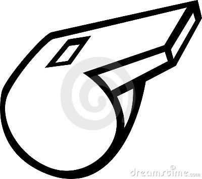 whistle vector illustration