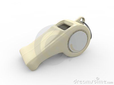 Whistle with Volume Control