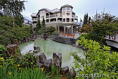 Whistler Building and Lake