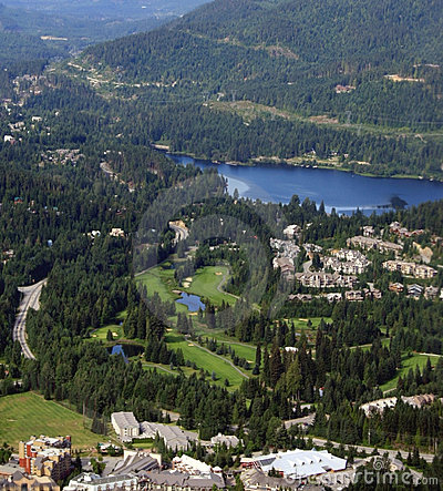 Free Whistler Village, Canada Stock Images - 4218354