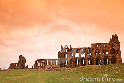 Whitby Abbey castle