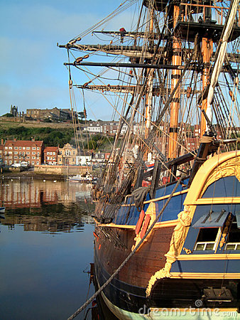 Free Whitby Endeavor Royalty Free Stock Photo - 1128545