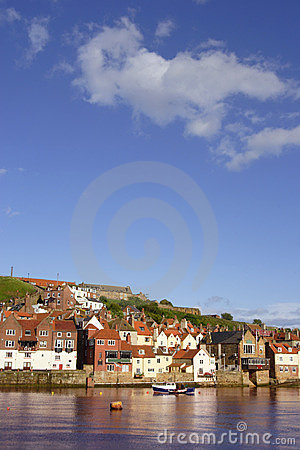 Free Whitby Harbour, UK Stock Image - 822301