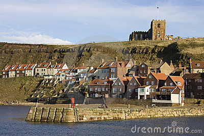 Whitby in North Yorkshire - United Kingdom
