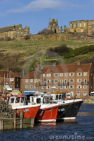 Whitby in North Yorkshire - United Kingdom Editorial Stock Image