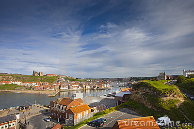 Whitby village