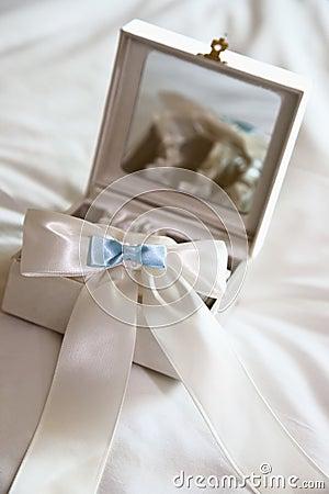 Free White And Blue Garter Stock Photos - 10292343