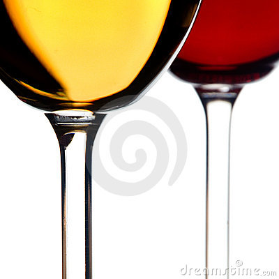 Free White And Red Wine Stock Image - 12321761