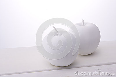 White apple object