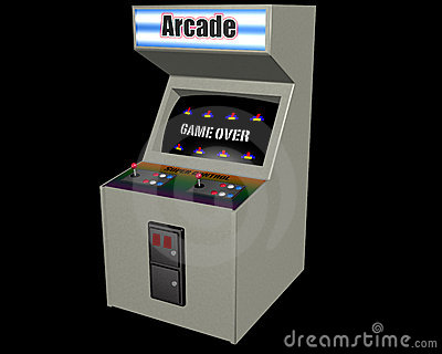 White Arcade Game