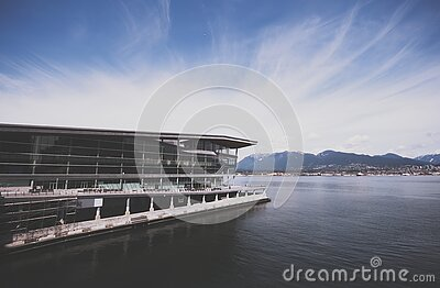 White Architectural Structure On Body Of Water Free Public Domain Cc0 Image