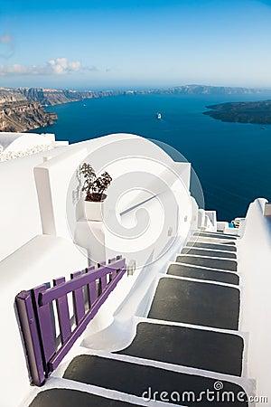 Free White Architecture On Santorini Island, Greece. Stock Photos - 127606683