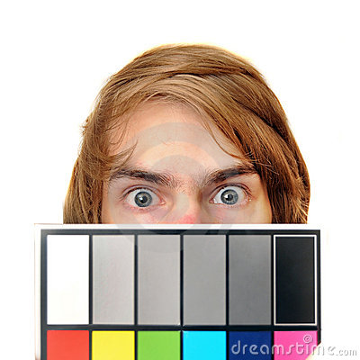 White Balance Color Card