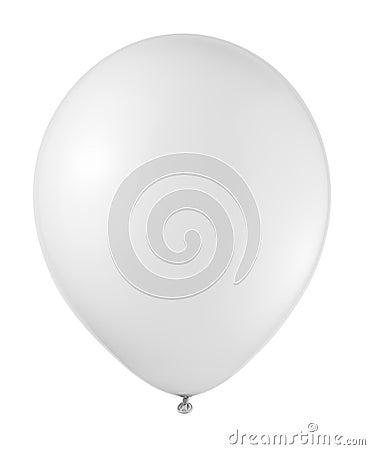 Free White Balloon Royalty Free Stock Photography - 31075257