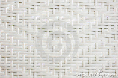 White basket weave