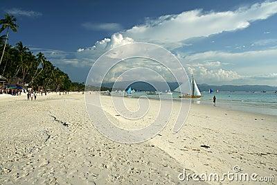 White beach boracay island philippines